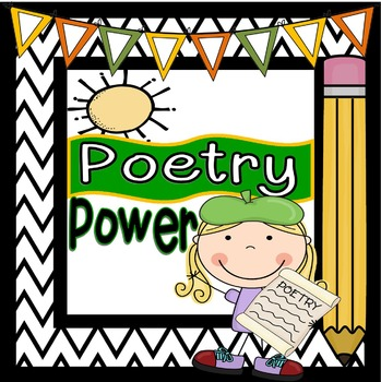 Poetry Power: Poetry Centers, Poetry Activities & Poetry T