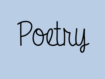 Poetry Powerpoint for indtrduction