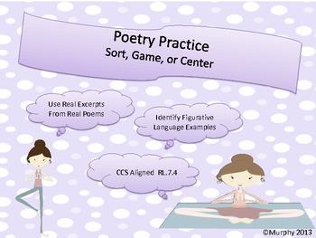Poetry Practice Games