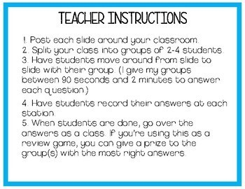 Poetry Practice Questions (with STAAR question stems)