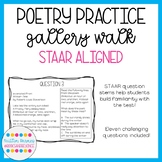 Poetry Practice Questions (with STAAR question stems; upda