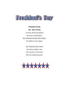Poetry-President's Day Poem (K-2)