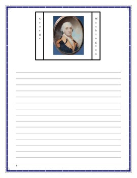 Poetry-President's Day-Washington Poem (K-2)