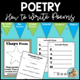Spring Activities Poetry | Writing Poems
