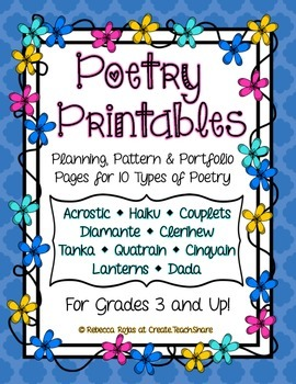 Poetry Printables