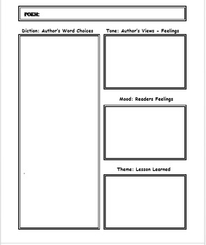 Poetry: Printables Activities With 4th - 5th Text Exemplars, 116 Pages!