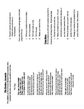Poetry Projec--Booklet