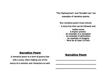 Poetry Project Booklet