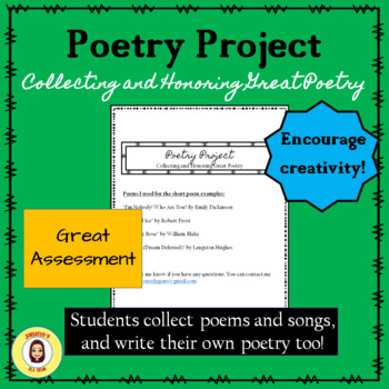 Poetry Project- Collecting and Honoring Great Poetry/Secondary ELA