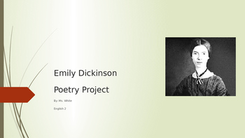 Poetry Project Example