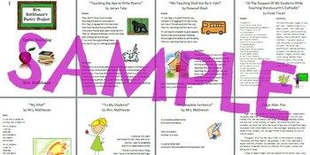 Poetry Project Exemplar