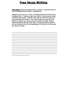 Poetry Project-Unit Plan