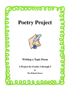 Poetry Project - Writing a Topic Poem