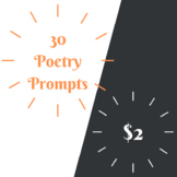 30 Poetry Prompts