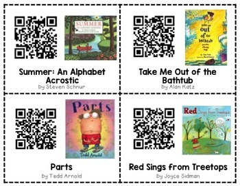 Poetry QR Code Read Alouds