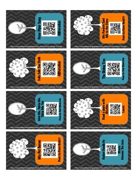 Poetry QR Scanners