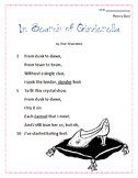 Poetry Quiz- In Search of Cinderella