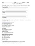 Poetry Quiz--Middle School