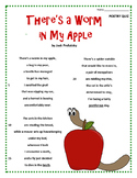 Poetry Quiz- There's a Worm in My Apple