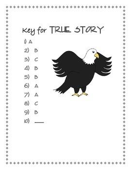 Poetry Quiz- True Story