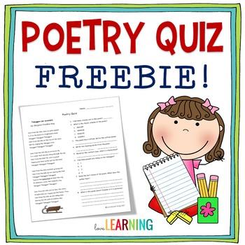 Poetry Quiz