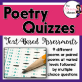 Poetry Quizzes: Text-Based Assessments