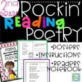 Poetry Reading Unit 2nd Grade with Lessons and Poems