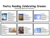 Poetry Reading Celebrating Dreams