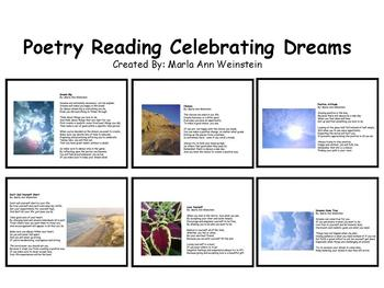 Poetry Reading Celebrating Dreams