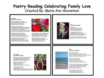 Poetry Reading Celebrating Family Love