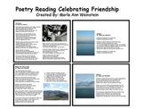 Poetry Reading Celebrating Friendship
