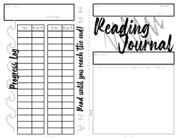 Poetry Reading Journal