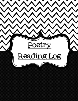 Poetry Reading Log