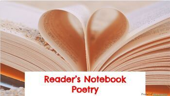 Poetry Reading Notebook Entries