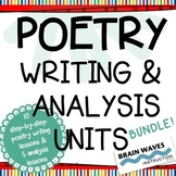 Poetry Reading, Writing, and Analyzing - BUNDLE!