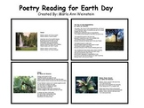 Earth Day Poetry Reading