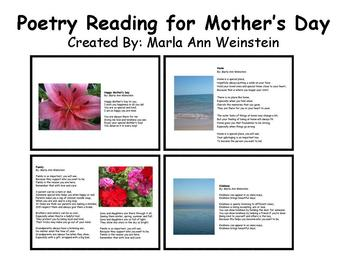 Mother's Day Poetry Reading