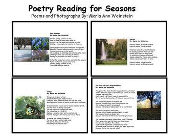 Seasons Poetry Reading