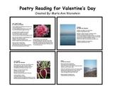 Valentine's Day Poetry Reading