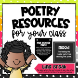 Poetry Resources for the Class
