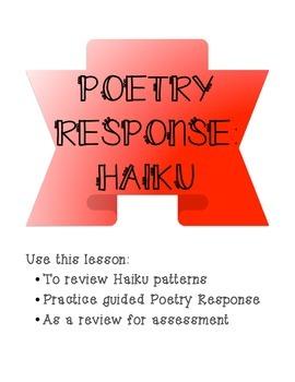 Haiku Poetry Response