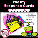 Poetry Response Cards
