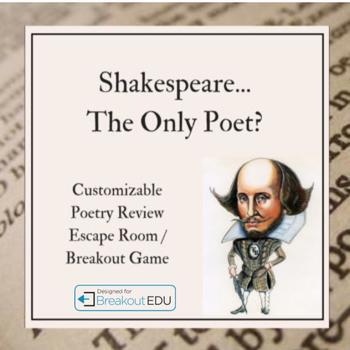 Poetry Review Breakout Game (See Content Below)