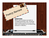 Poetry Review Card Game