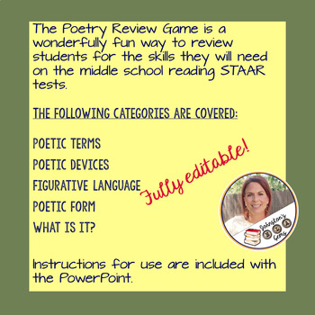 Poetry Review Game
