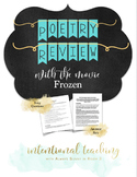 Poetry Review Using Songs from the Movie Frozen
