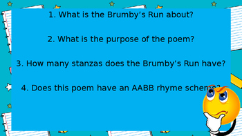 Poetry - Rhyming Stanzas Power Point Presentation