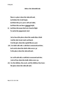 Poetry STAAR prep