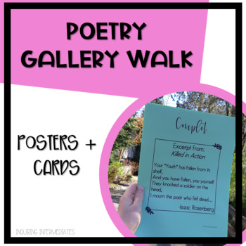 Poetry Sample Cards - 78 Poems for 9 Kinds of Poetry
