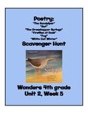 Poetry Scavenger Hunt (4th Grade Wonders; Unit 2 Week 5)